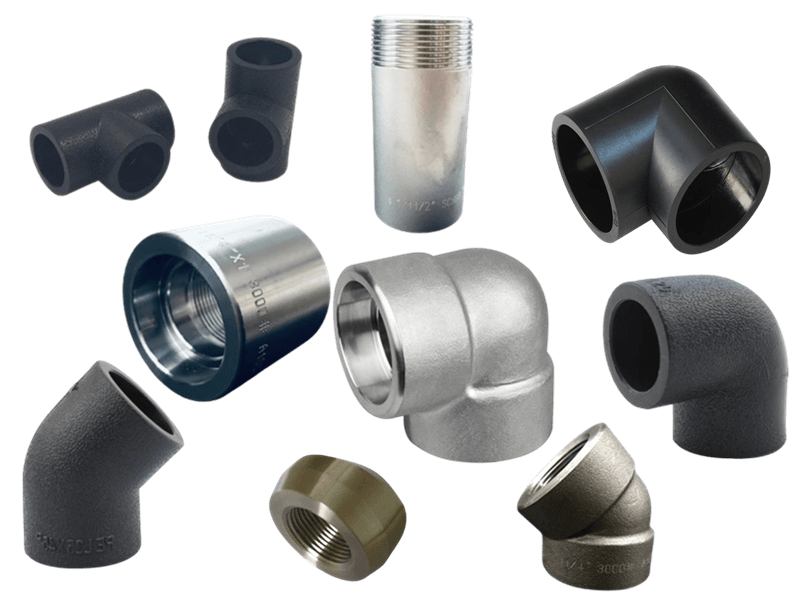 carbon steeel forged fittings